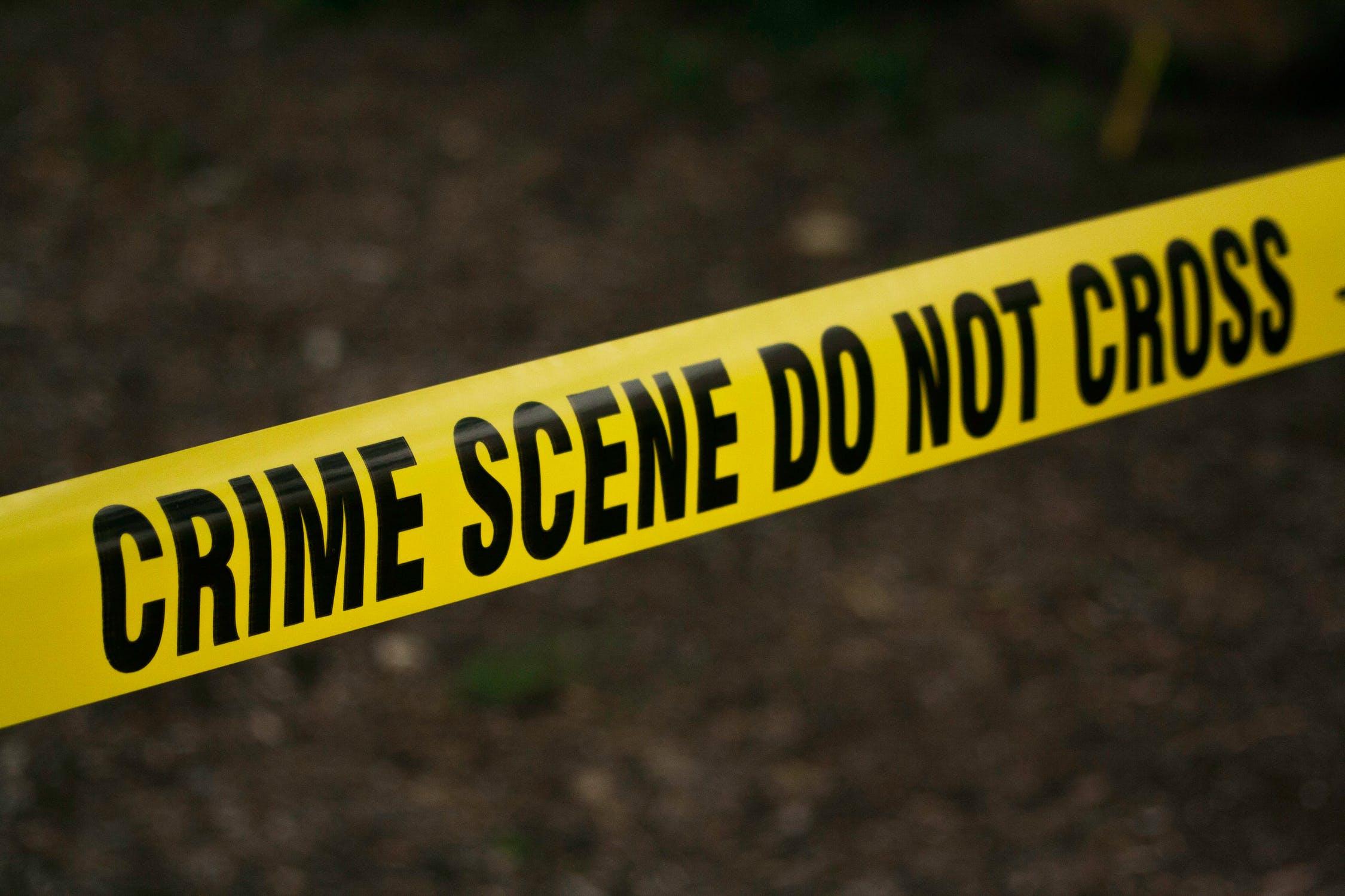 Police Line Tape: Crime Scene